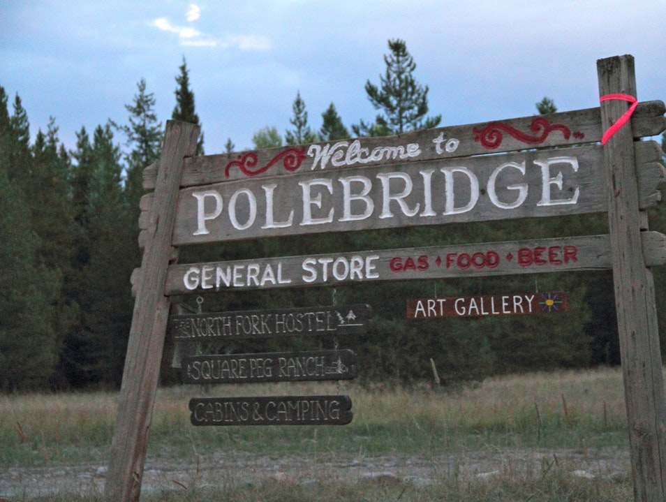 Montana's Best-Kept Secret  POLEBRIDGE Montana United States
