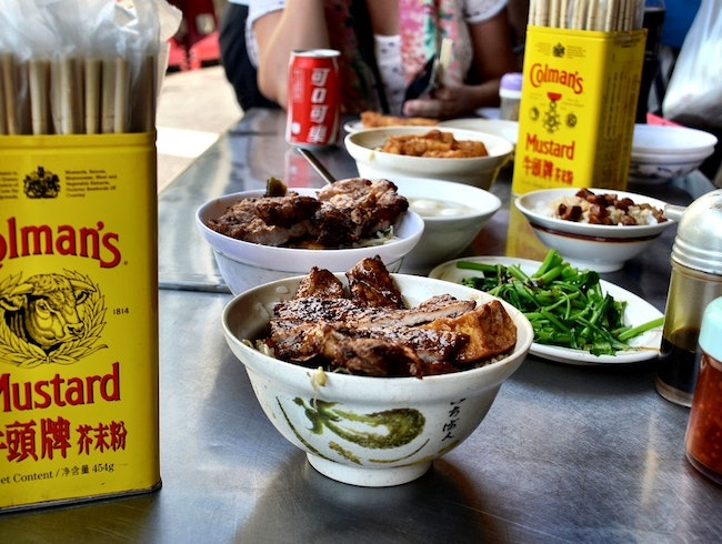 The Weirdest (and Most Delicious) Street in Taipei