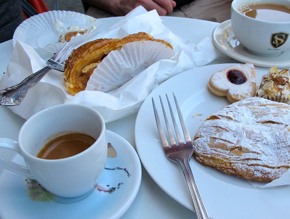 Authentic Italian Pastries in North Beach San Francisco California United States
