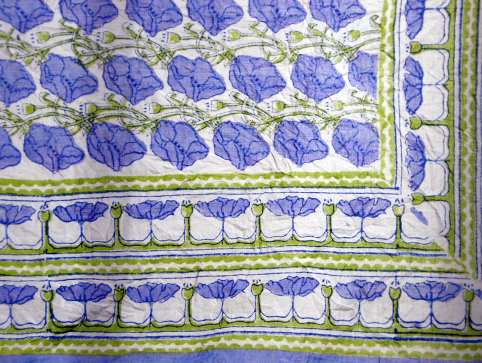 Anokhi Contemporary Block-Print Designs New Delhi  India