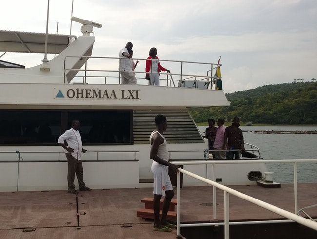 Boat Cruise on the Volta on Akosombo