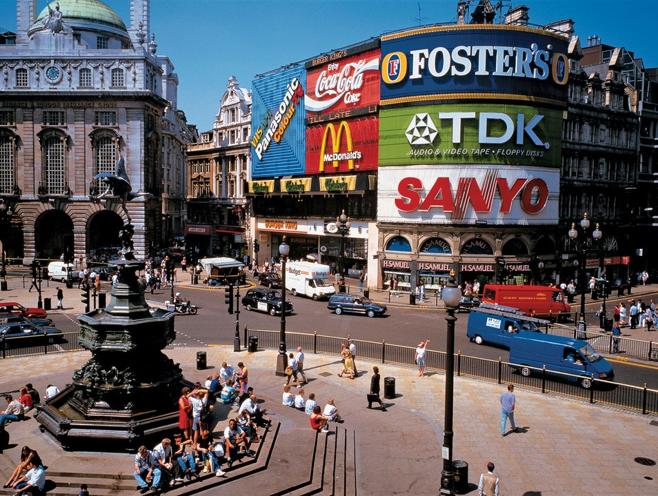 Piccadilly Circus London London  United Kingdom