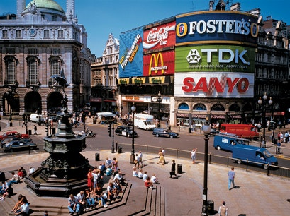 Piccadilly Circus London  United Kingdom
