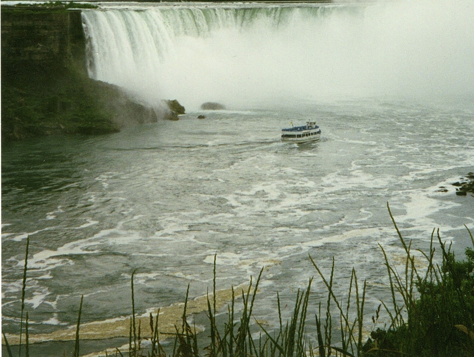 The Falls From the Canadian Side Niagara Falls New York United States
