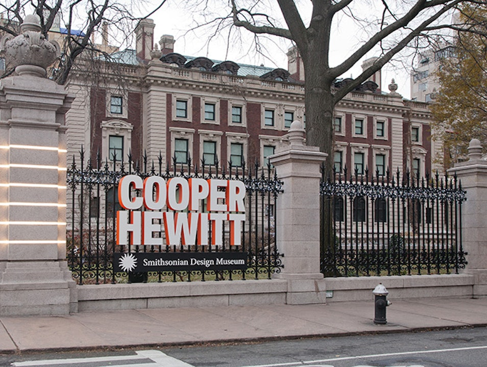 Cooper Hewitt Smithsonian Design Museum New York New York United States