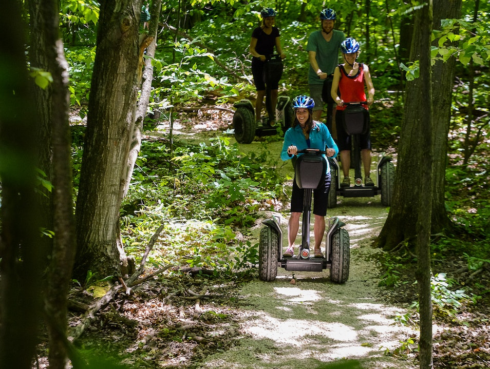Segway Mountain Adventures  The Blue Mountains  Canada