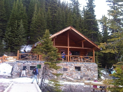 Lake Agnes Tea House Lake Louise  Canada
