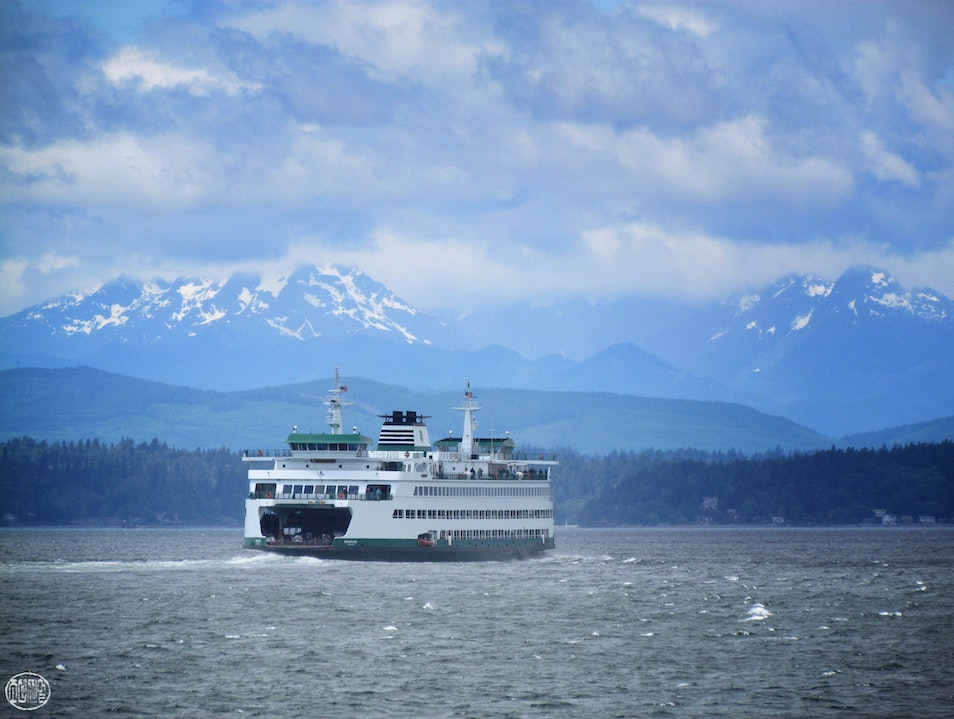 Escape from Seattle: Take the Ferry Seattle Washington United States