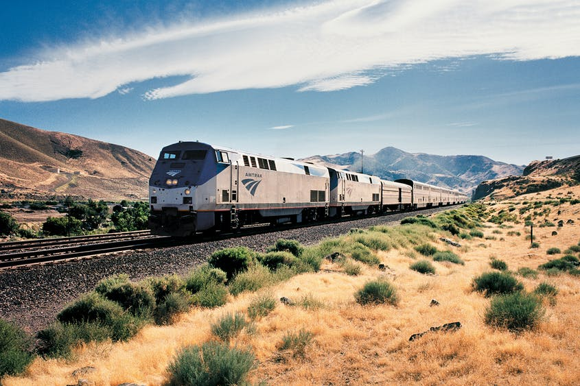 The California Zephyr is considered to be one of the most beautiful train rides in the United States.