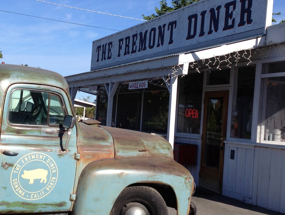 Southern comfort food in the heart of Wine Country Sonoma California United States