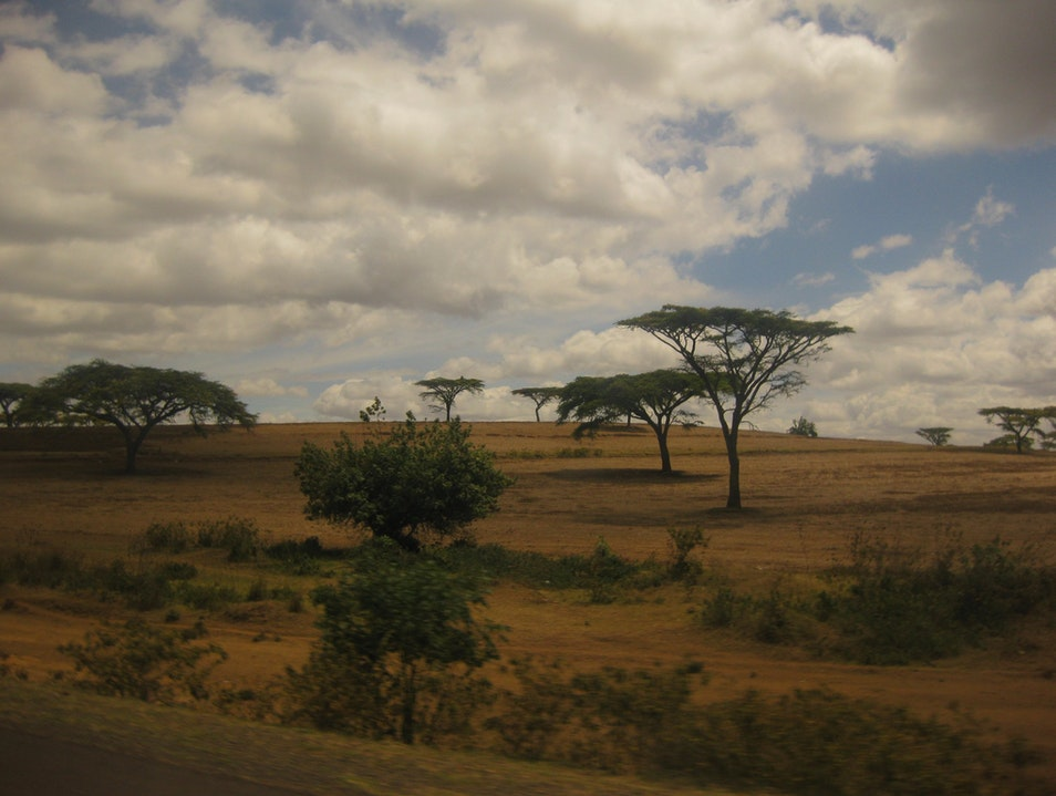 Away from winter and into a whole new culture.  Thika  Kenya