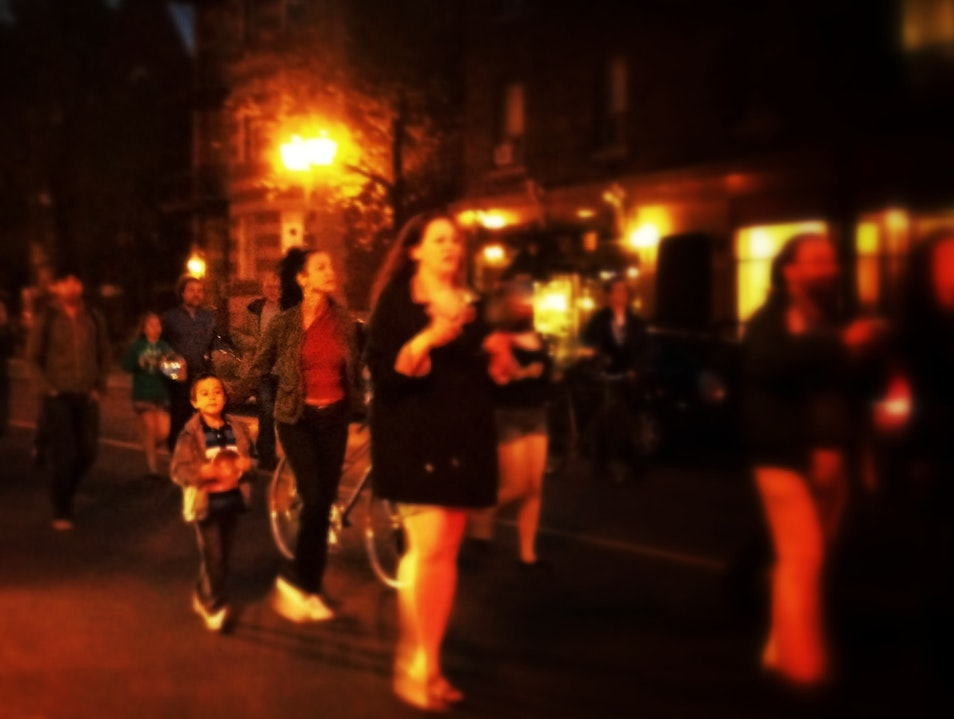 """""""Casseroles"""" Protest In Montreal Montreal  Canada"""