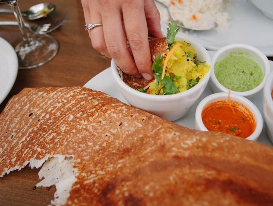 Gorgeous, Colorful Indian Food in Santa Fe