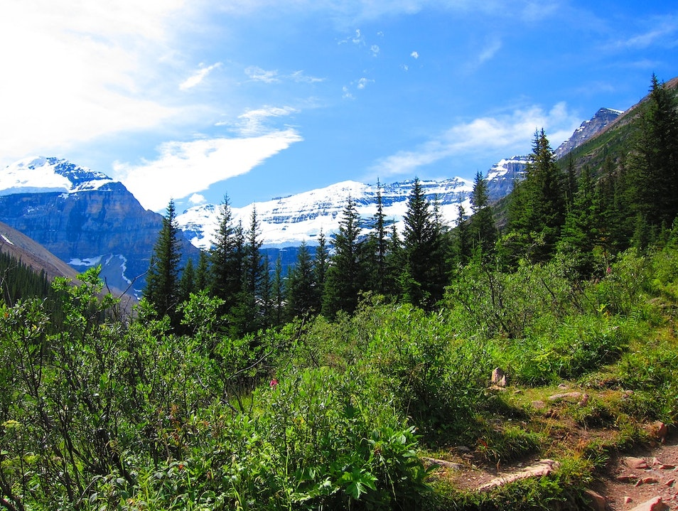 Hiking from Lake Louise