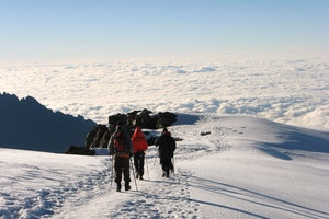 Summiting Mt. Kilimanjaro