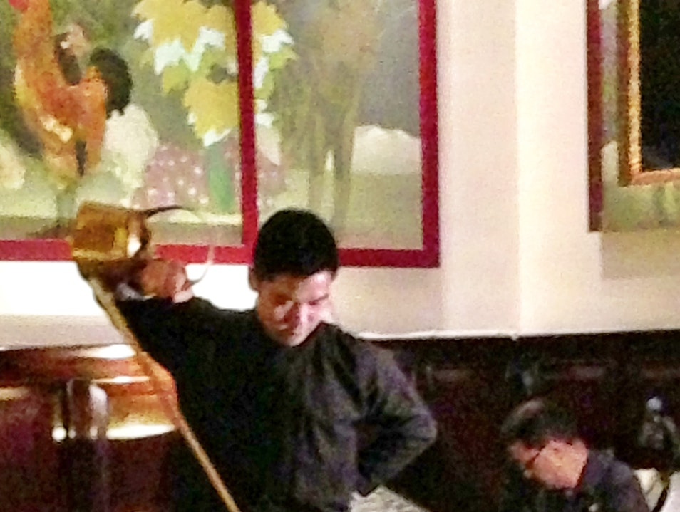 Tea Pouring at the China Club