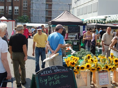 Marylebone Farmers' Market London  United Kingdom