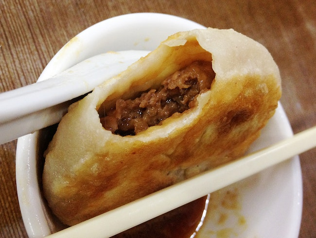 Kowloon's Juicy Beef Cake
