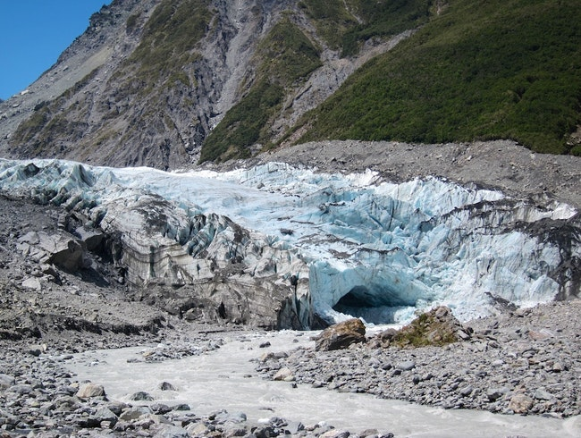 Glacier Meets Rain Forest on New Zealand's South Island