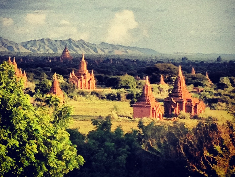 Just can't get enough pagodas Kyaw Zi  Myanmar