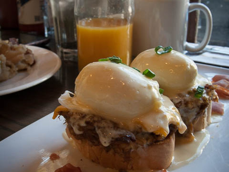 Gourmet comfort food in New Orleans New Orleans Louisiana United States