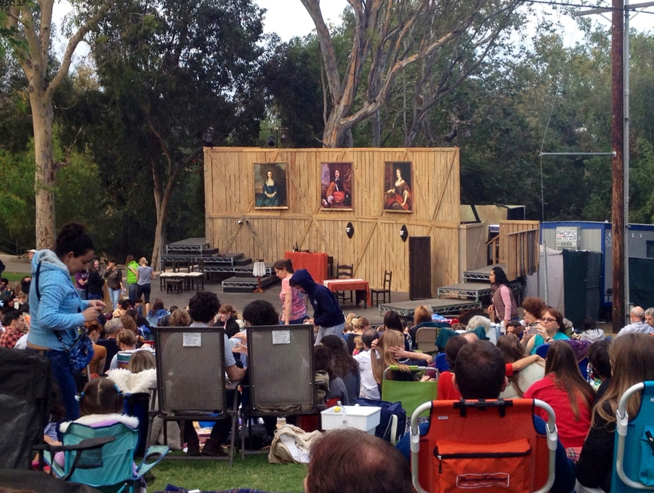 Free Shakespeare At Griffith Park Los Angeles California United States