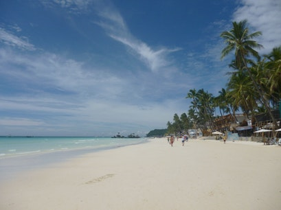White Beach Boracay Malay  Philippines