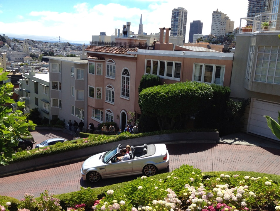 Lombard St, San Fran San Francisco California United States