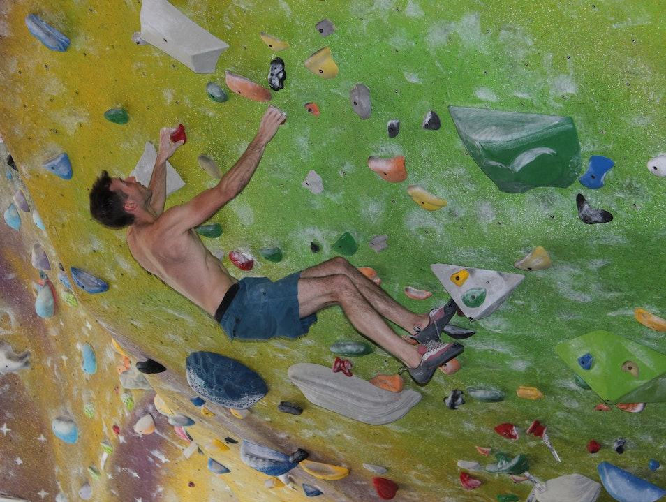 Bouldering at High Point Chattanooga Tennessee United States