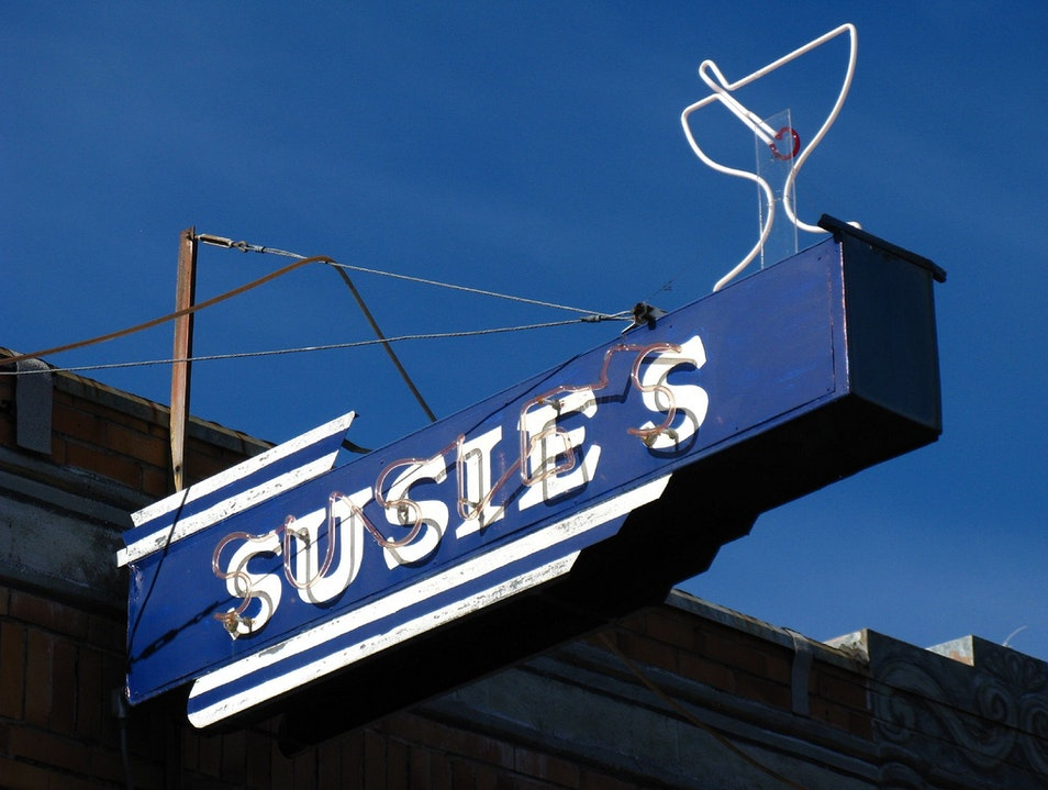 Susie's Bar Keeps Calistoga 'Down to Earth' Calistoga California United States