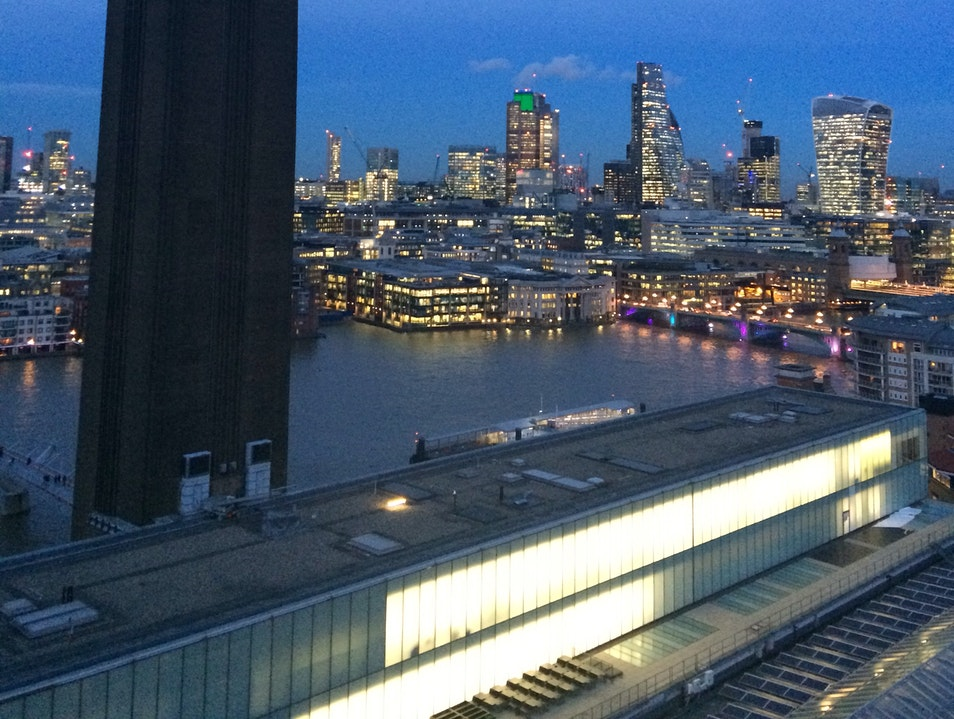 View from the Tate London  United Kingdom