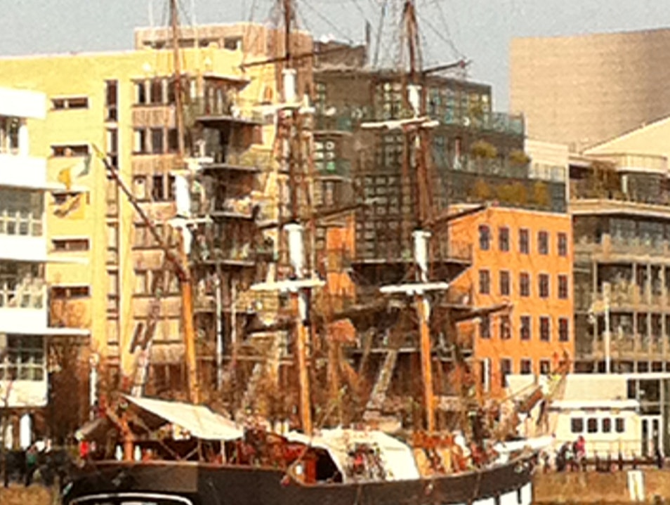 Jeanie Johnston Tall Ship Dublin  Ireland