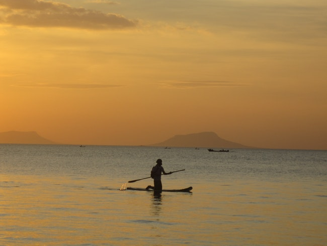 Sunset Paddleboard