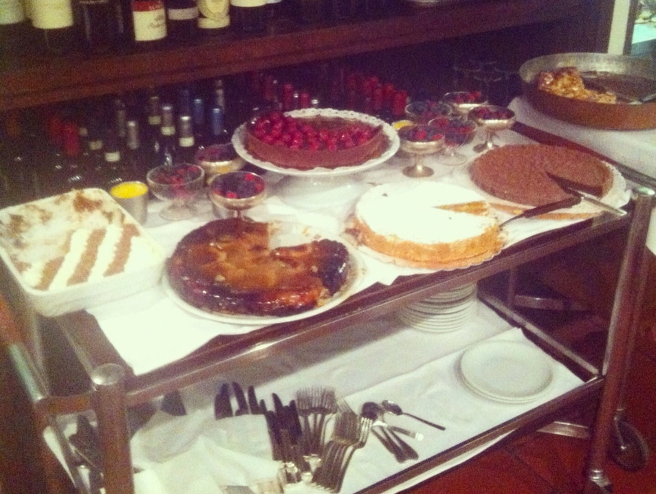 A Dessert Cart as Good as It Looks Milan  Italy