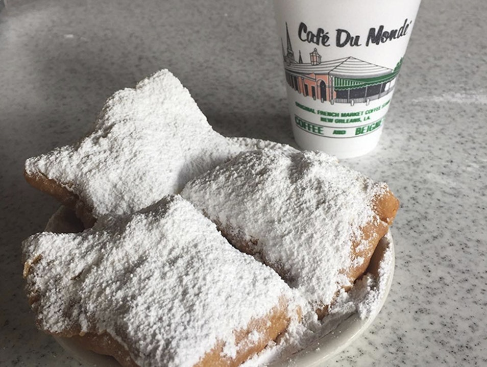 Beignets and Coffee Please: The Taste of New Orleans New Orleans Louisiana United States