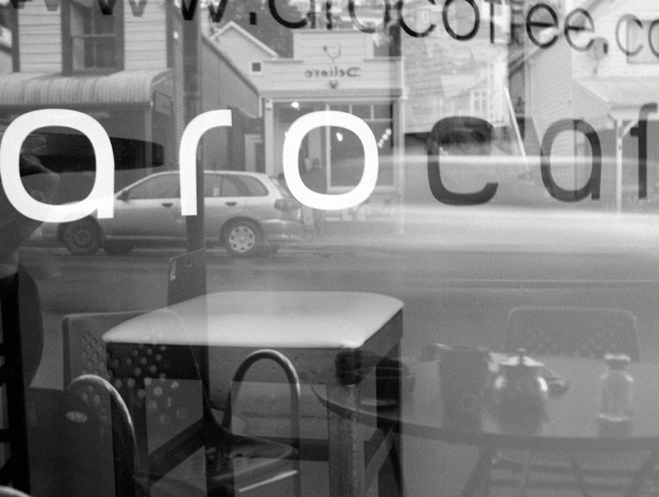 Aro Cafe Wellington  New Zealand