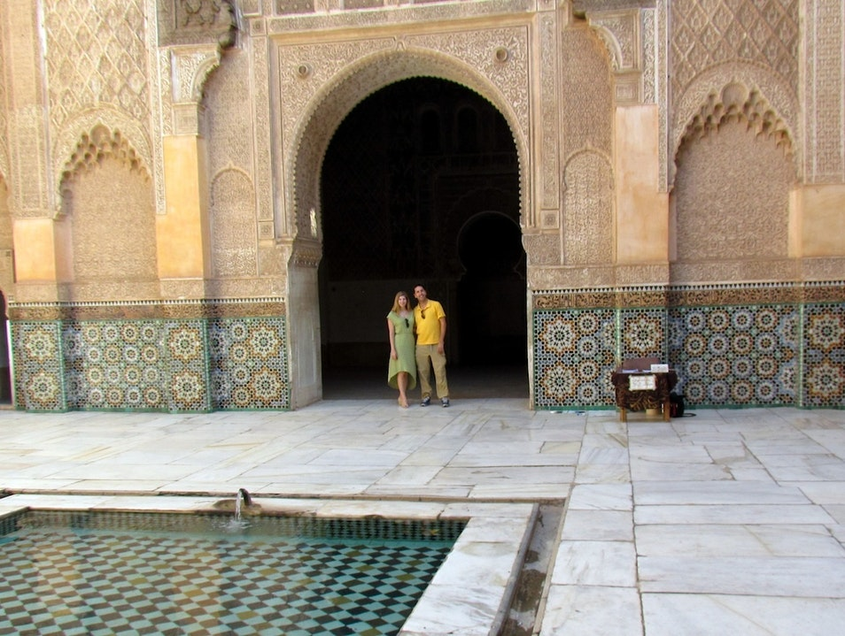 Romantic photo opportunities Marrakech  Morocco