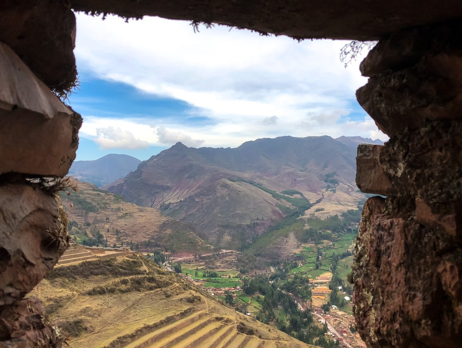 Temple of the Sun Pisac  Peru