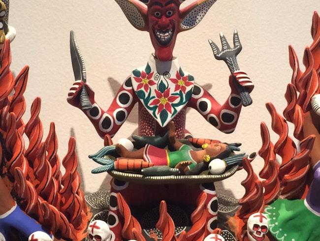 A feast of Mexican Folk Art