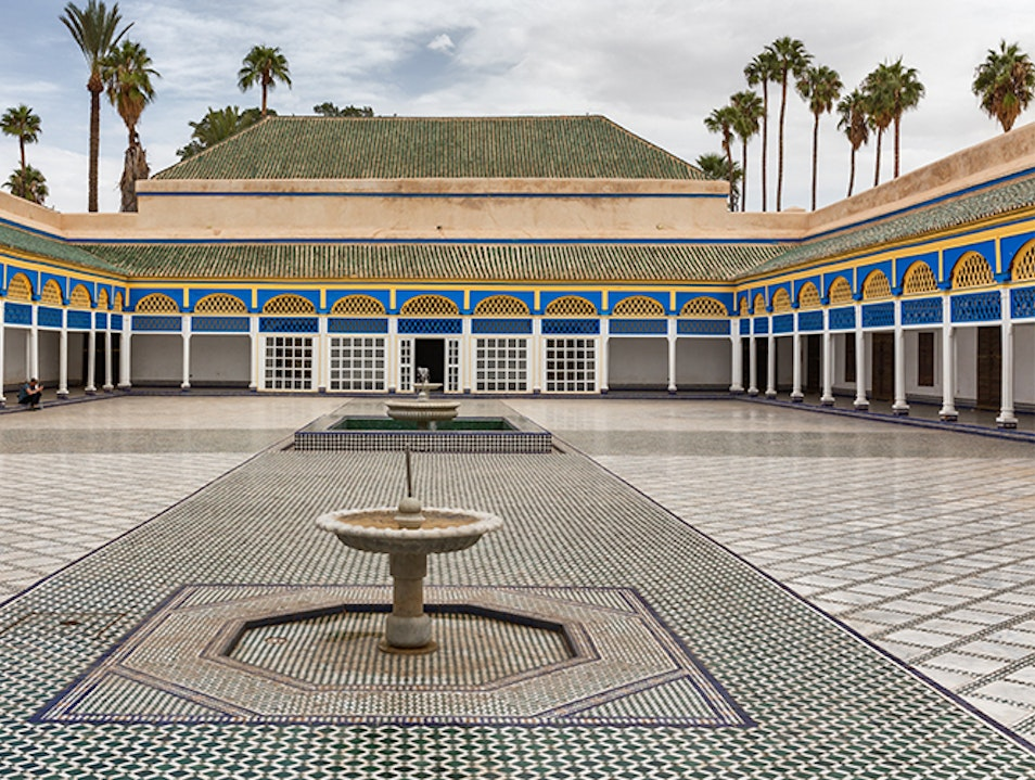 Morocco's Most Spectacular Palace Marrakech  Morocco