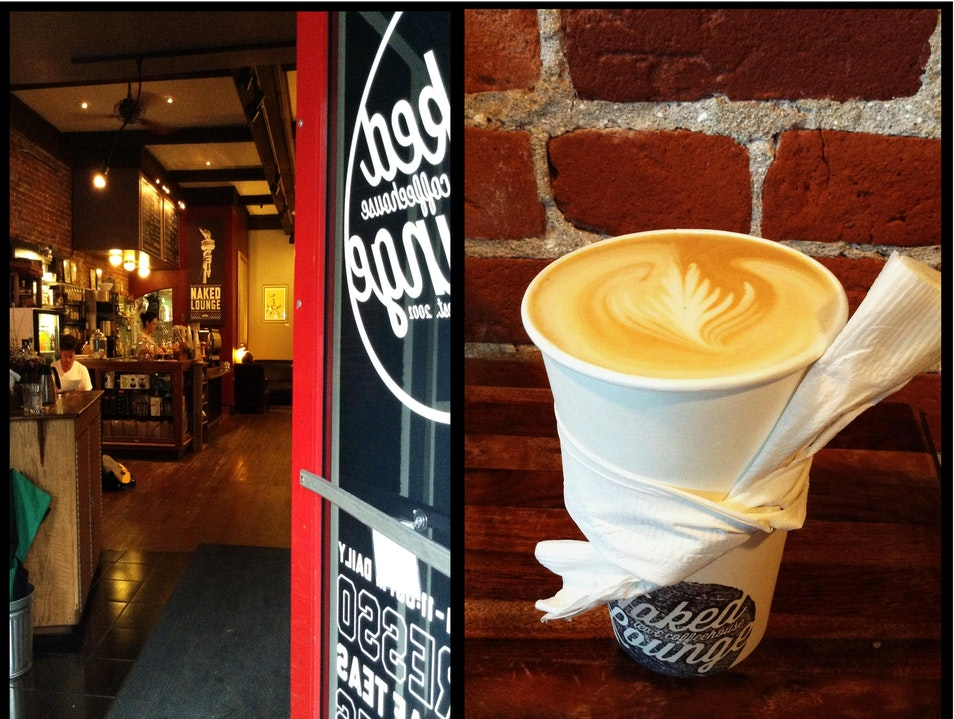 Coffehouse with Industrial Elements and No Shortage of Charm