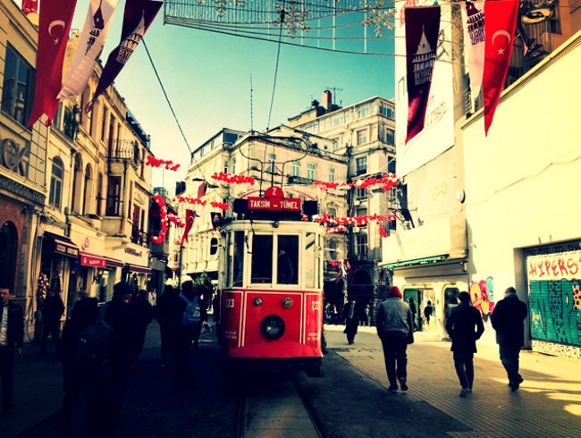 Strolling along Istiklal