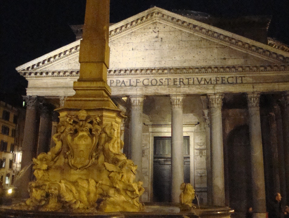 The Moon and the Pantheon