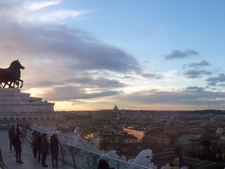 Views from the Victor Emmanuel II Monument