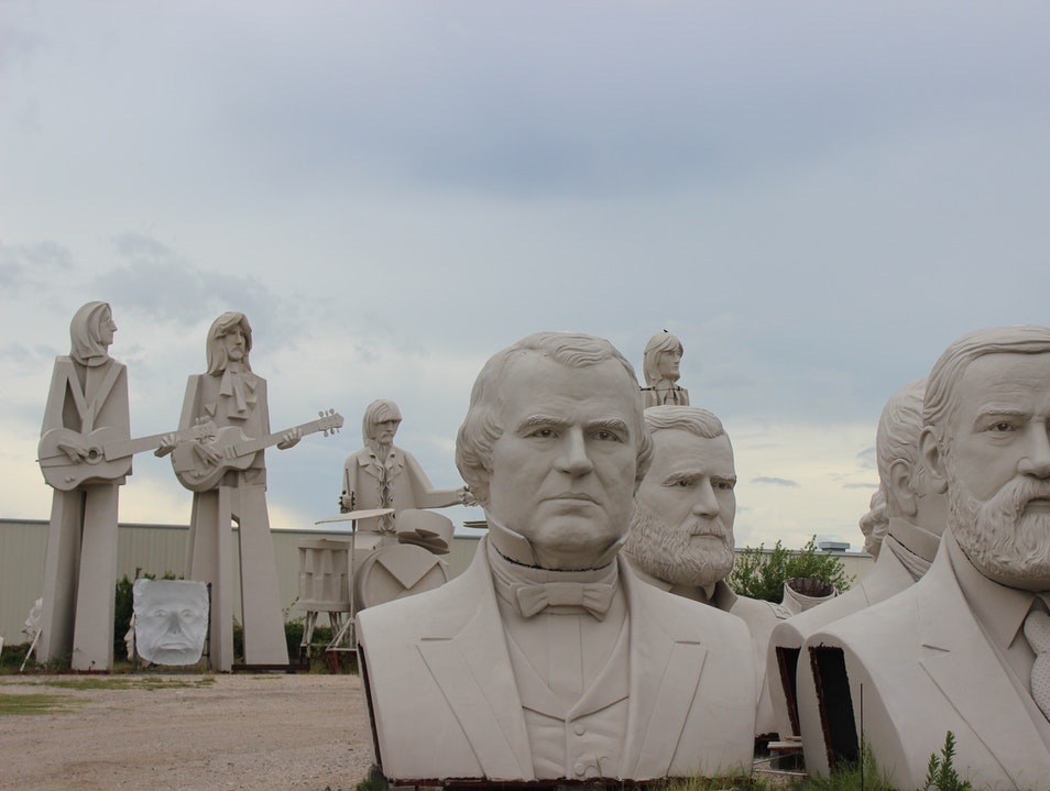 Hang with the Beatles & Teddy Roosevelt in Houston