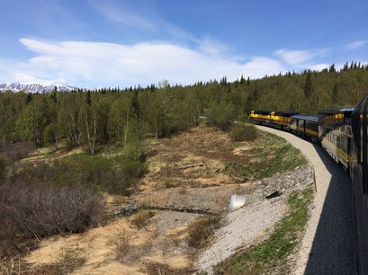 Alaska Railroad  Anchorage Alaska United States