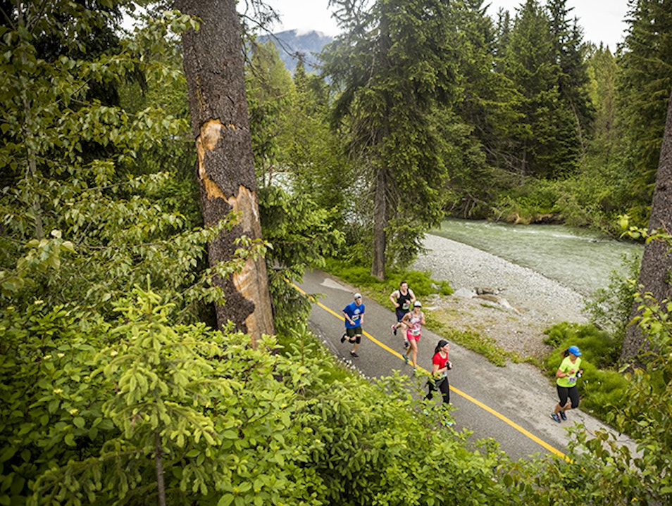 Running Valley Trail Whistler  Canada