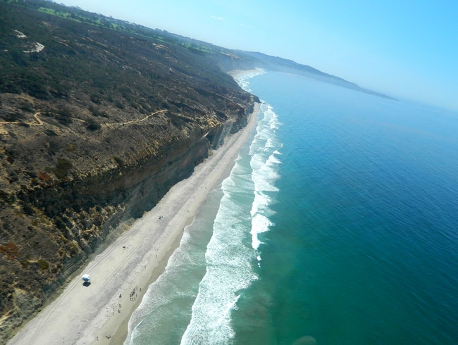Gorgeous views of San Diego from a helicopter!