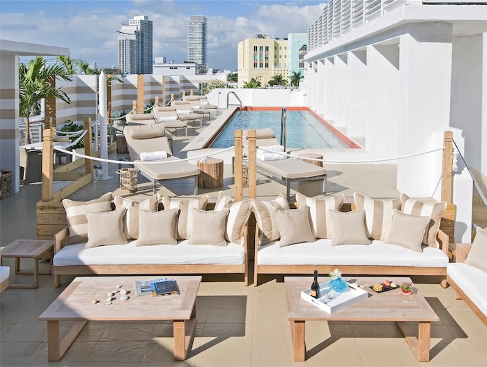 South Beach Hotel Hideaway Miami Beach Florida United States