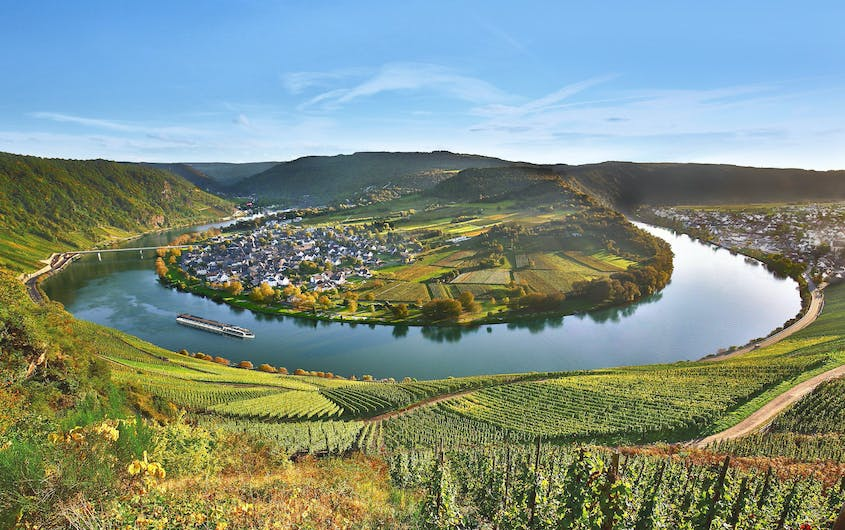 Cruise the beautiful Moselle on one of AmaWaterway's wine-themed river cruises.